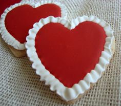 Ruffle Hearts, Michele @ The Last Course Bakery