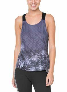60T2SE6_2014 Desigual Sport T-Shirt Teadrop