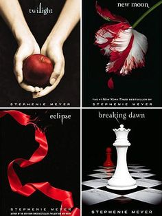 Twilight Series - yes I gave in and I'm really enjoying them! #recommend