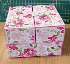 Stampin Up, Decorative Boxes, Card Making, Scrap, Tutorial, Paper, Cards, How To Make, Cartonnage Tutorials