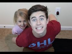 ▶ MEET MY SISTER | Nash Grier - YouTube  Too cute! I hope my kids love each other this much! So cute