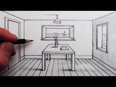 How To Draw A Room In 1 Point Perspective For Beginners You Are In The Right Place About Ar Perspective Room Perspective Drawing Perspective Drawing Lessons