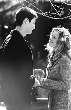 Nathan + Haley - my favorite couple EVER .... One Tree Hill