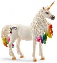 Rainbow Unicorn Mare pretty Bayala magical horse unicorn toy Schleich 2016 figure | www.minizoo.com.au