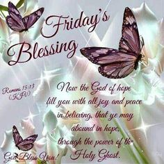 Friday Blessings!!! Wishing everyone a great weekend xo