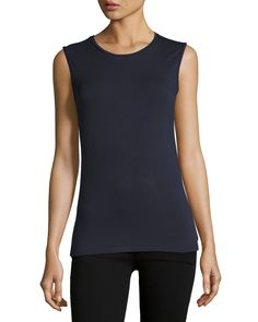Soft Touch Crewneck Tank Top