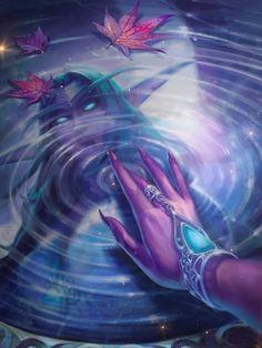 Trailer Art: Tyrande Artist: Blizzard Entertainment