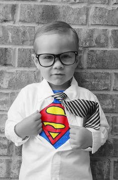 This picture made the cutest super hero invitations. I took it and my sister did the editing!