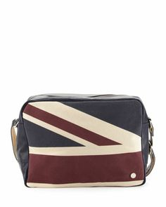 Union Jack Flight Bag, Navy by Ben Sherman at Neiman Marcus Last Call.