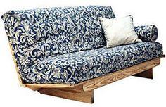 Super Ez Sofa Queen Size Futon Set By Collegiate Furnishings