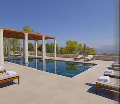 New Mediterranean Beach Resort, the Amanzoe Resort and Spa, Porto Heli, Greece #airconcierge #europe