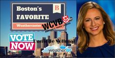 Is @DanielleVollmar of @WCVB Your Favorite #Weathercaster? Vote for her @ http://bit.ly/bosfav