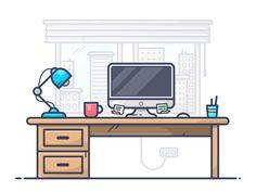 Workspace by Alex Kunchevsky