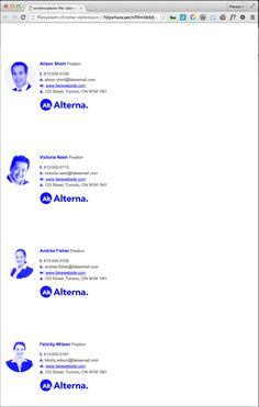 Use javascript to bulk process company html email signatures - Eric Schmidt Design + Creative
