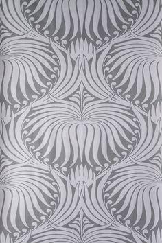 Wallpaper Accent Option: Farrow & Ball - Lotus BP 2061