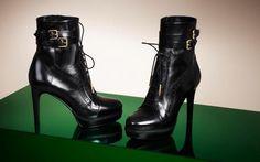 $857.00 hermosa bota piel negra, cafe, beige y combinadas