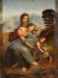 Autor: Leonardo da Vinci Rok wykonania: ok. 1506-1513 Technika wykonania: olej na desce Rozmiar: 168 cm × 112 cm Muzeum: luwr