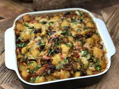 Mexicaanse krieltjes ovenschotel - Familie over de kook Easy Meals For Two, Quick Easy Meals, I Love Food, Good Food, Yummy Food, Easy Cooking, Cooking Recipes, Healthy Recipes, One Dish Dinners