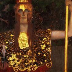 Gustav Klimt Pallas Athena 1898