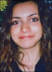 Meredith Kercher – A beautiful young woman who had her life stolen from her by Rudy Guede in an act of pure evil.