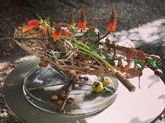 Table Arrangements, Flower Arrangements, Gregor Lersch, High Art, Land Art, Late Summer, Floral Design, Bloom, Scene