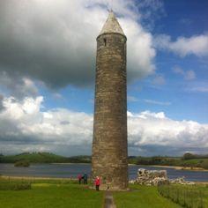 Round Tower on Devenish Island, County Fermanagh