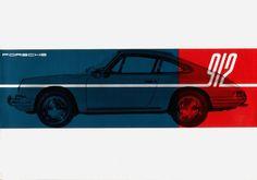:: 1965   Porsche 912   Brochure ::