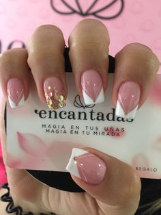 Fancy Nails, Love Nails, My Nails, Gorgeous Nails, Pretty Nails, Precious Nails, French Manicure Nails, Simple Acrylic Nails, Beach Nails