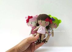 The Home of My Teeny-Tiny Dolls® - Handmade Fashion Dolls Felt Dolls, Doll Toys, Handmade Baby, Handmade Toys, Operation Christmas Child, Tiny Dolls, Sewing Dolls, Fabric Dolls, Doll Patterns