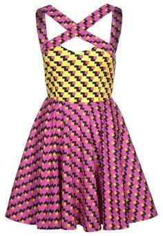 Vestido de algodón - Fairground  Zalando ✽ Prints