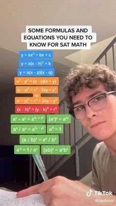 College Life Hacks, High School Hacks, Teen Life Hacks, High School Life, Life Hacks For School, School Study Tips, High School Seniors, Sat Tips, Sat Math