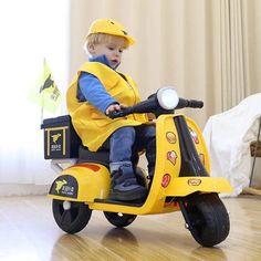#xemaydienchotreem #xevespadien #xechobe Electric Vespa, Baby Strollers, Motorcycle, Bike, Children, Vehicles, Baby Prams, Bicycle, Young Children