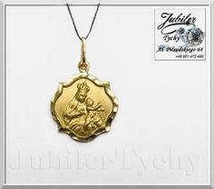 Firma Jubilerska, al. Piłsudskiego 64, 43-100 Tychy, Polska, www.jubilertychy.pl tel. +48 601 472 480  #Złoty #Medalik #Matka #Boska #Szkaplerzna #Szkaplerz #Karmelitański #Złoto #Jubiler #Tychy #Gold http://tinyurl.com/hpjyf4c
