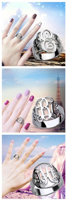 Let this travel be different with these Personalized rings! Give yourself something special just for you. Order Now,Save Up To 40%. Come and have a try at  Getnamenecklace.com