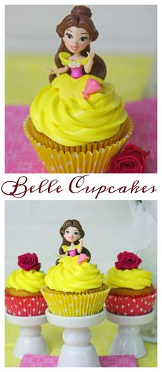 Belle Cupcakes- Beauty and the Beast - The Kid's Fun Review