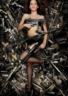 Guns - Girls with guns #girlswithguns