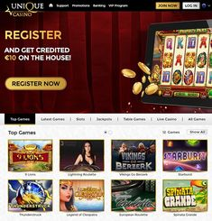 In this Unique Casino bonus review I am going to start with an interesting bonus for new online casino players. When you never played at this casino before you are lucky because you are able to collect a no deposit bonus. You can claim €10 free play money when you register a free account. Yes this is true, you only have to register a free account and the casino gives you €10 play money. You don't have to deposit money to claim the €10 play money. #UniqueCasino #NoDepositBonus #FreeSpins… Play Money, Latest Games, Live Casino, All Games, Casino Bonus, News Online, Unique, Free