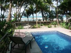 Punta Coco Beachfront Vacation Rental on Santa Teresa Beach Costa Rica