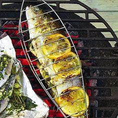 Zitronen-Forellen mit Kapern Rezept   Küchengötter
