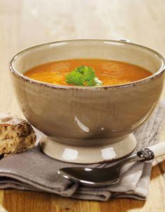 Gulrot og ingefær suppe