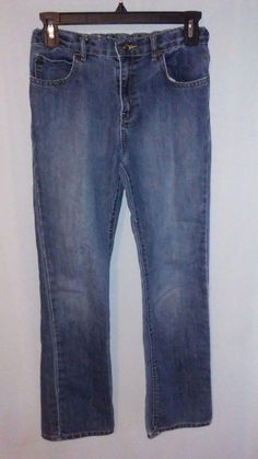 Realistic Cherokee Boy Straight Black 5 Pocket Adjustable Waist Jeans Size 4 Bottoms Clothing, Shoes & Accessories