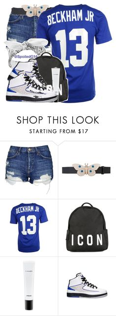 """""""Icon."""" by spoiledg16 ❤ liked on Polyvore featuring Topshop, Gucci, NIKE, Biala, Dsquared2, MAC Cosmetics and Retrò"""