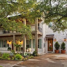 Exterior House Colors With Brown Roof Design, Pictures, Remodel, Decor and Ideas - page 20