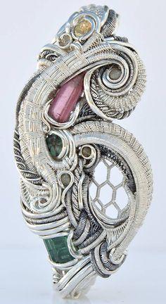 ©Soula Pieces #wirewrap #jewelry #wirewrapjewelry