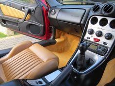 2000 Alfa Romeo GTV V6 interior