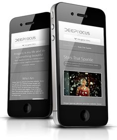 DeepFocus WordPress Responsive Portfolio Theme