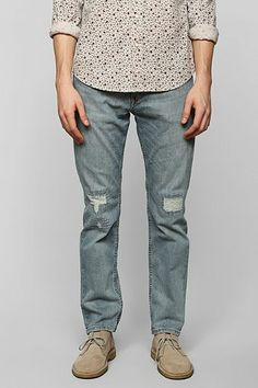 Levi's 511 Blue Steel Skinny Jean - Urban Outfitters