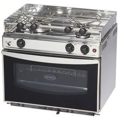 Output: / BTU Burners / BTU Oven, Style: Gimbaled, Dimensions: H x W x D, Electronic Spark Ignition, ENO Propane Gas Open Sea Stove with Oven from Defender Industries Kitchen Stove, Kitchen Appliances, Camper Kitchen, Coca Cola, School Bus House, Cooking Stove, Cooking Beets, Camper Hacks, Camper Renovation