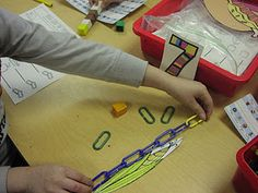 Non standard units:  measure things with paper clips.  Let kids discover that the paper clips need to be touching and have no spaces between them.