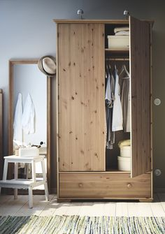Time for a bedroom storage update! Your wardrobe should fit your clothes, your style and your space! Find the perfect bedroom wardrobe for you.